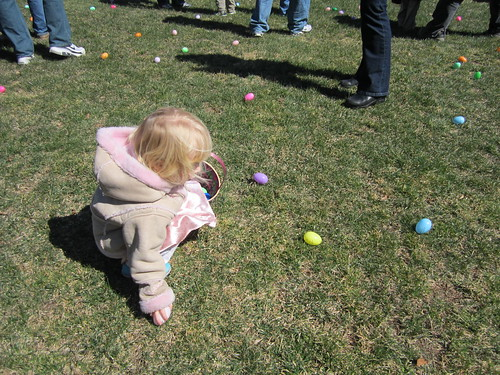 celebrating easter with toddlers