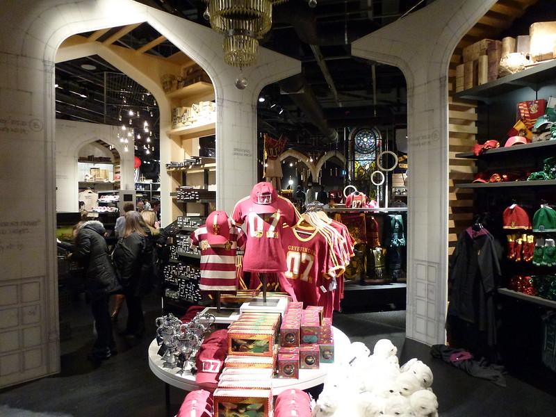 Gift Shop: Harry Potter Tour Warner Bros Studios Leavesden London