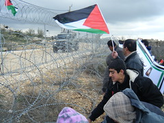 Beit Ommar weekly demonstration - March 17, 2012
