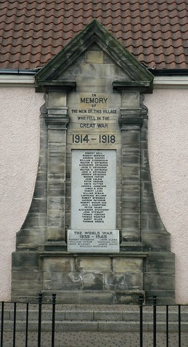 War Memorial , Coaltown of Wemyss, Fife