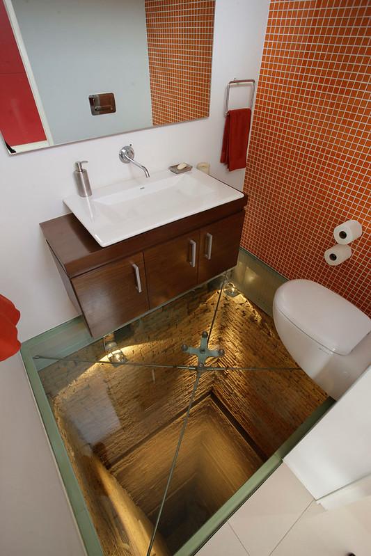 scary bathroom