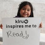 KLRU inspires me to ... read!