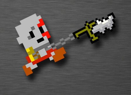 "God of War Gets ""De-Made"" in Glorious 8-Bit"