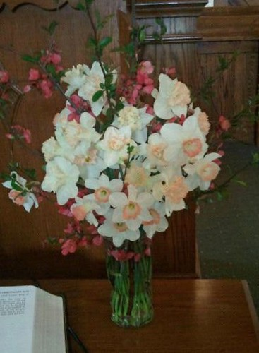 bouquet for church
