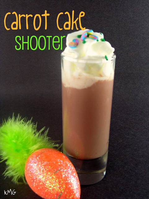carrot cake shooter