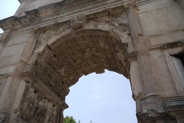 Arco di Tito 提圖斯凱旋門