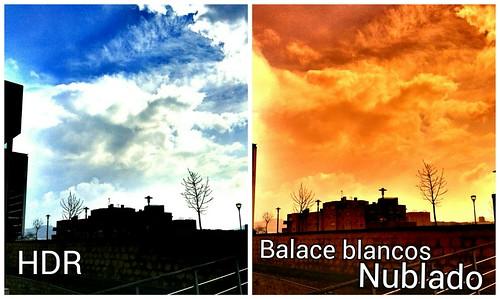 El uso de HDR y Balance de Blancos Nublado 3