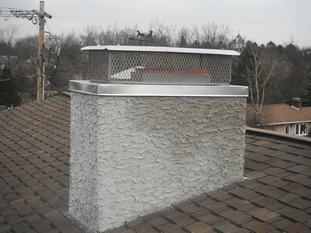 Concrete Chimney Cap : Chimney caps and covers home hearth masonry