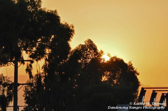 Sun rising in Scoresby