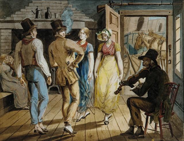 John Lewis Krimmel Merrymaking at a Wayside Inn 1811