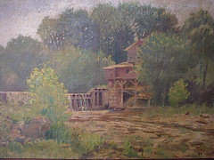 Mill by a River