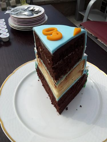 jarni narozeninovy dort