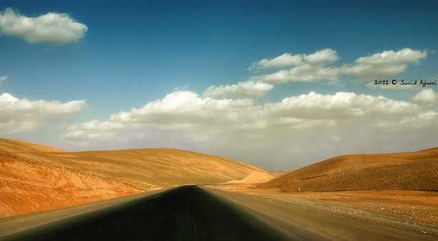 a road for going..