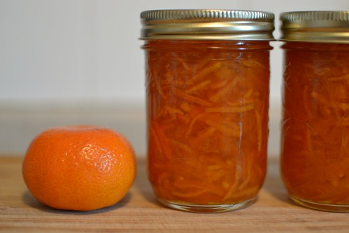 Clementine and anise marmalade