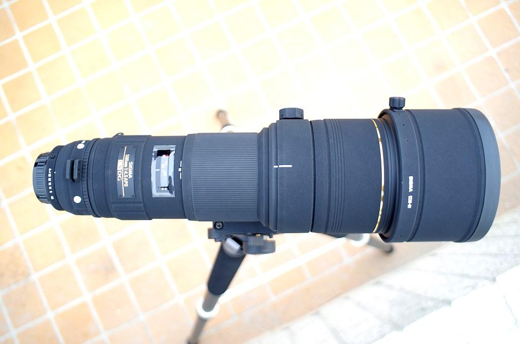 SIGMA APO 500mm F4.5 EX DG
