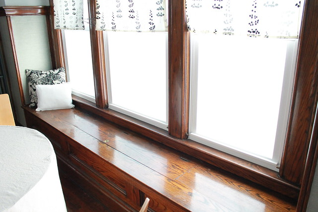 Dining Room Window Seat