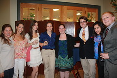 2011-2012 participants celebrate their past year with EI