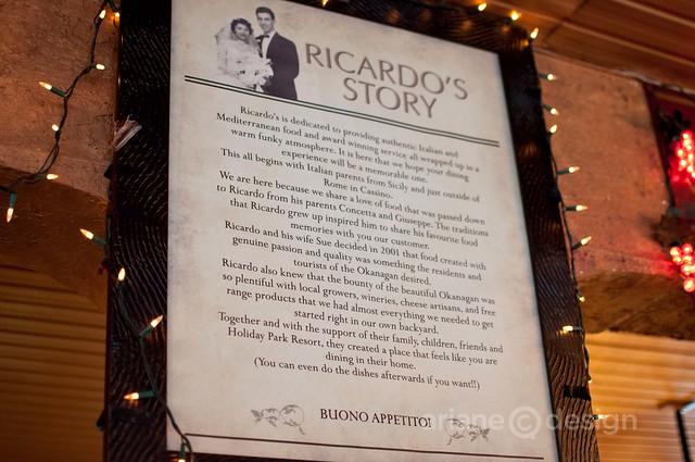Ricardo's story