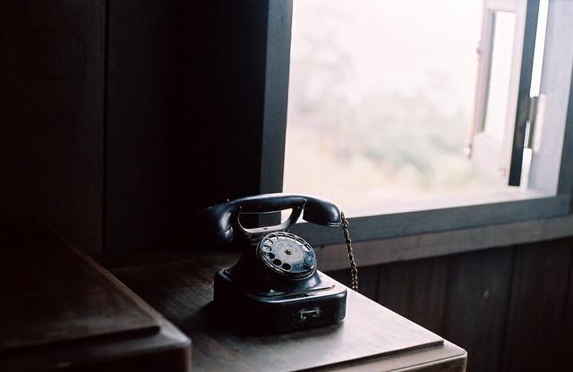 Điện thoại cũ của BS Alexandre Yersin