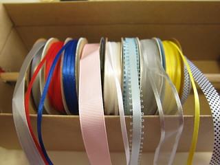 Iron Craft Challenge #9 - Shoebox Ribbon Organizer