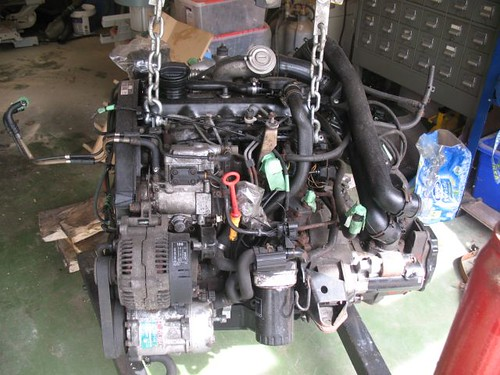 7156642485_580016a2f7 vwvortex com fs 1 9l tdi ahu complete diesel engine swap tdi swap wiring harness at sewacar.co
