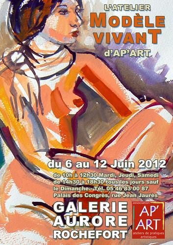 EXPO ModèleVivant Ap'Art by alain bertin