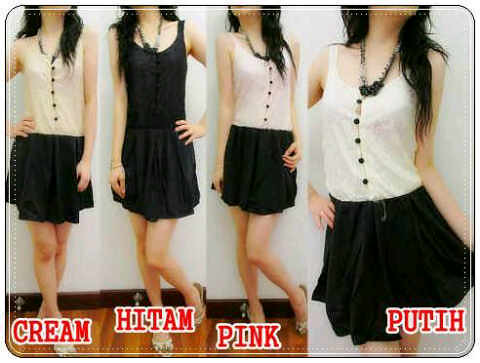 ip3489 303 dress brokat - 65RB, SZ L34, P86, BRUKAT DAN KATUN by Diary Shop Collection
