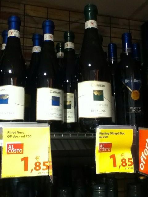 Italian Wine 1.85 Euro