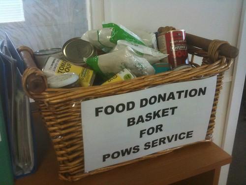 Gateway Family Services food basket