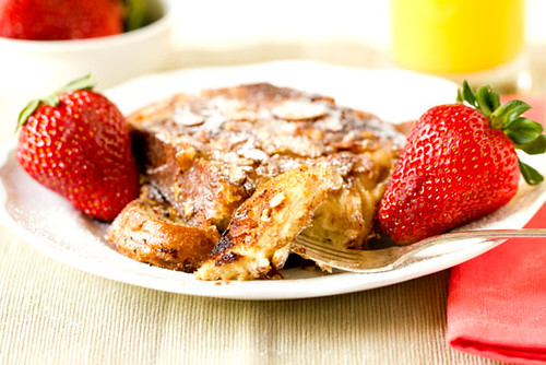 Cinnamon-Almond French Toast
