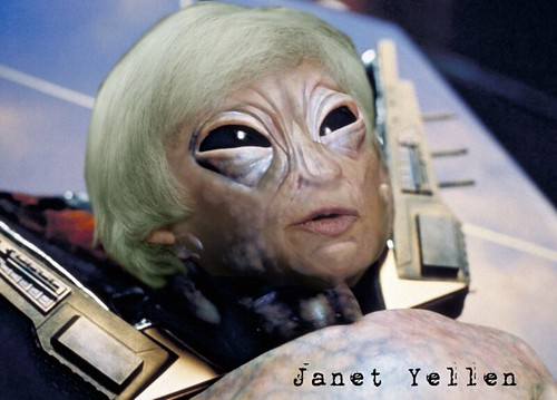 KEYNSIEN JANET YELLEN by Colonel Flick
