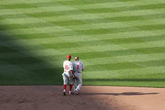 Juan Pierre and Shane Victorino