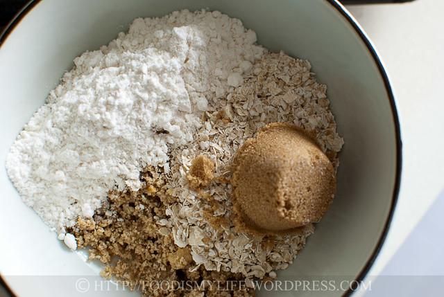 Crumble - flour
