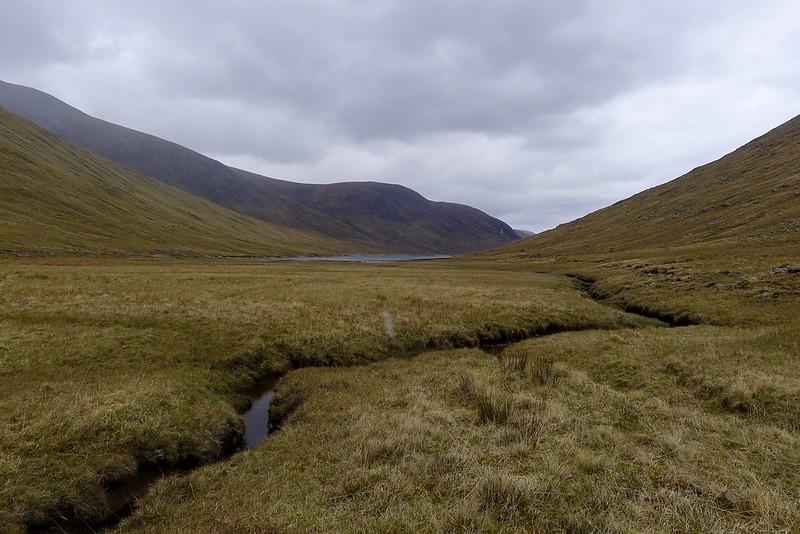 Approaching Loch Monar
