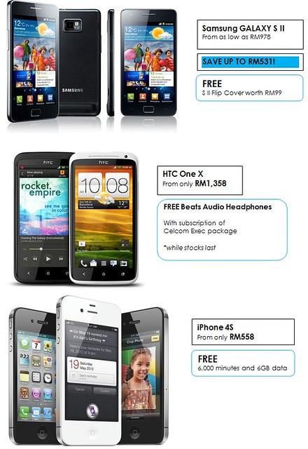 I LOVE TABLET FAIR 2012 @ GoMobile 2012, KLCC! Samsung Galaxy SII, HTC One X, iPhone 4s