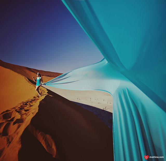 Namibia, Sossusflei dunes