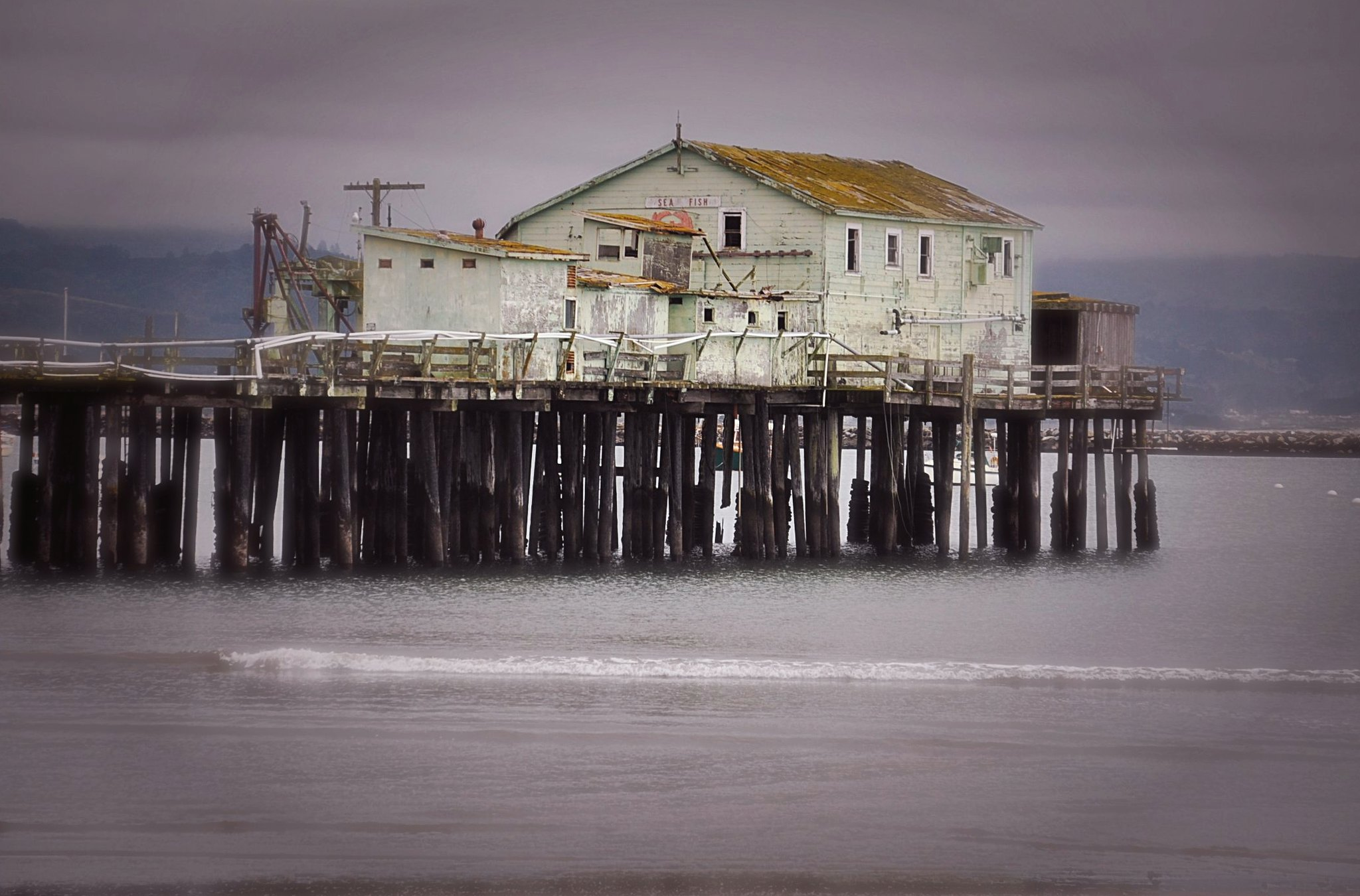 Princeton by the sea pier flickr photo sharing for Half moon bay pier fishing