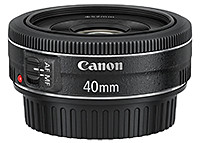 Canon EF40mm f/2.8 STM lens