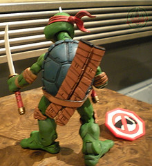 "NECA TEENAGE MUTANT NINJA TURTLES :: ""LEONARDO""  Tube Pack xx (( 2008 ))"