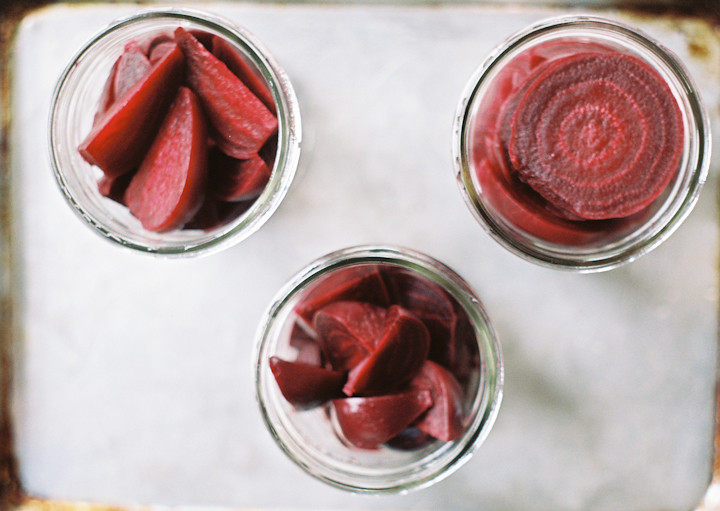 Gingery Pickled Beets
