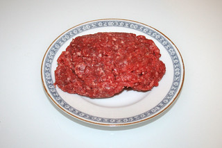 06 - Zutat Rinderhack / Ingredient beef ground meat