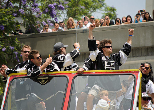 Stanley Cup Champion Los Angeles Kings parade by JulieAndSteve