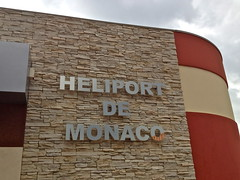 Monte Carlo - Monaco - Heliport - Departing to Nice - France - Photo taken with my iPhone
