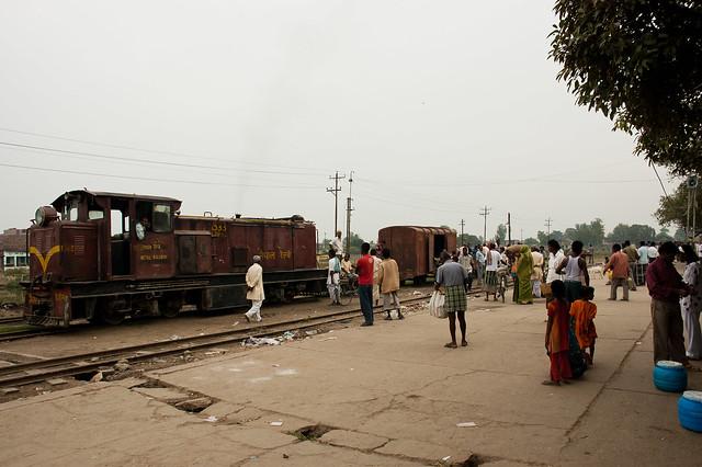 Tren en Nepal