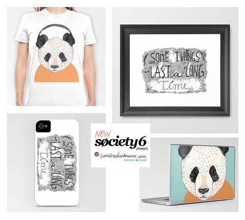Brand New Society6 Products! by www.sandradieckmann.com