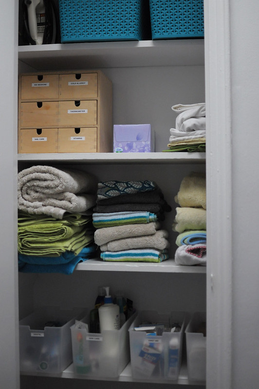 linen closet - after