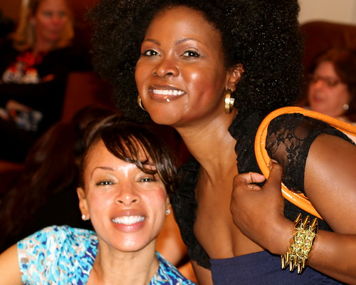 "Abiola Abrams & Alicia Rivers, GLAM Rembrandt ""THersday"" Spa Day"