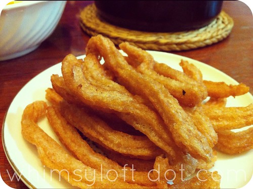 home made churros