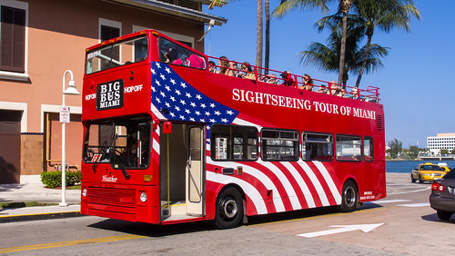 "Big Bus Miami Metrobus MB69 sightseeing bus ""Heather"""