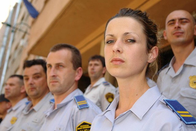 Police women challenging stereotypes in Bosnia and Herzegovina